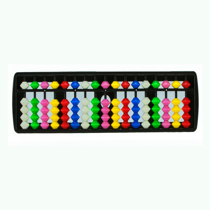 17 Rods Multi Colour Student Abacus (112)