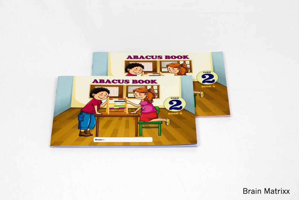 Abacus Book 2nd Level(Book A & Book B) (132)