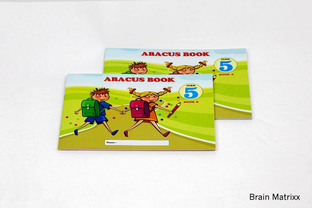Abacus Book 5th Level (Book A & Book B) (135)