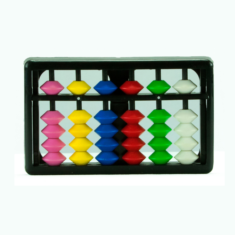 6 rods Multi Colour Kids Abacus  (106)