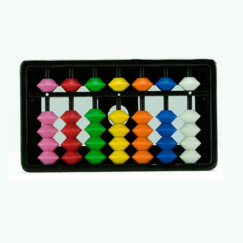 7 rods Multi Colour Kids Abacus (107)